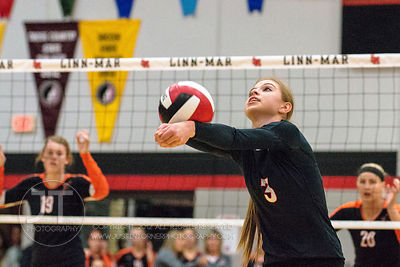 Prep Volleyball, CR Prairie vs IC City, November 4, 2014