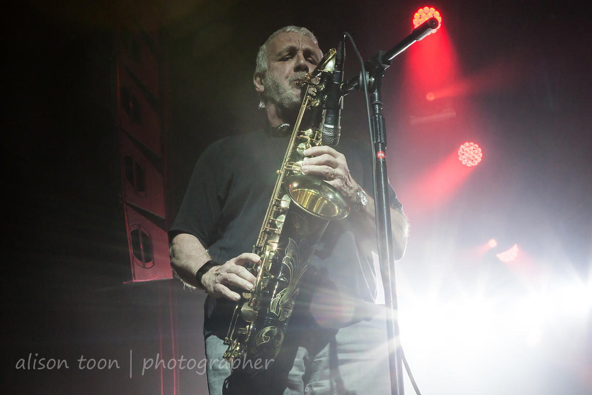 Guest Phil Todd, sax, Marillion, PZ 2017, Sunday