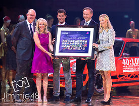Tracy Austin, Mark Webber, Steve Simon, Angelique Kerber