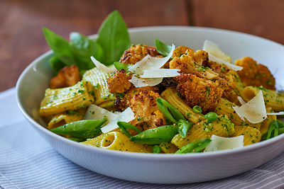 Pesto-Pasta-Rigatoni-Cauliflower_0255