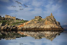 Portovenere Rock Reflections