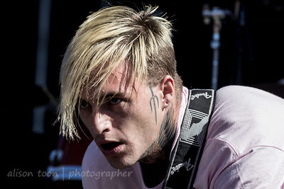 Johnny Stevens, vocals and guitar, Highly Suspect