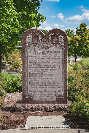 Ten Commandments Tablet