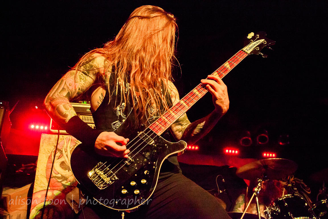 "Evan ""Loosh"" Linge, bass, Skeletonwitch, Ace of Spades, Sacramento"