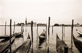 'San Giorgio II' Venice 1998 Photographer: Neil Emmerson (Nikon F3 and Agfa Scala 200).