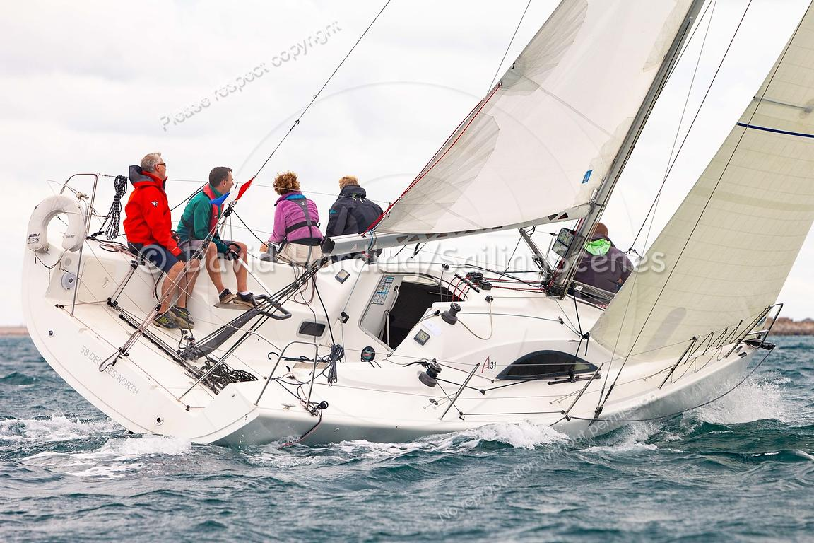 58 Degrees North, FRA37443, Archambault A31, Weymouth Regatta 2018, 201809081338.
