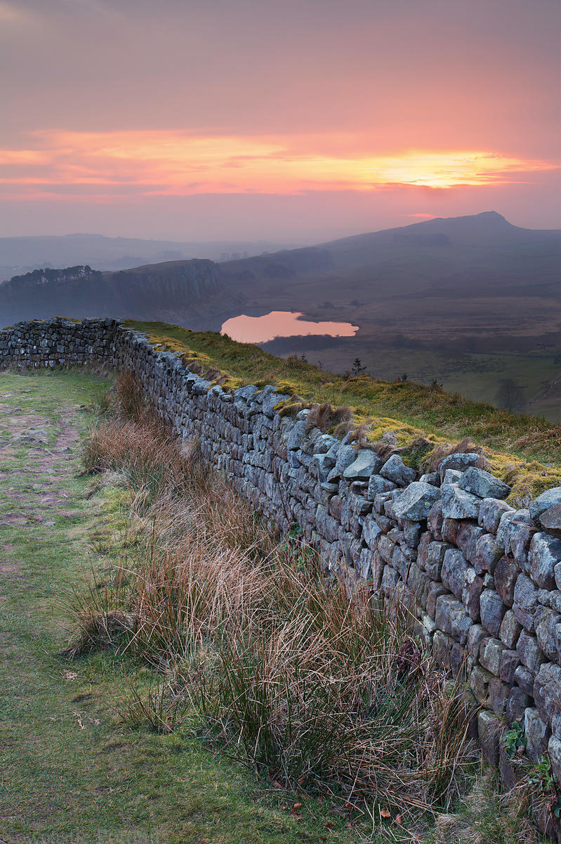 Hadrian's Wall Sunset