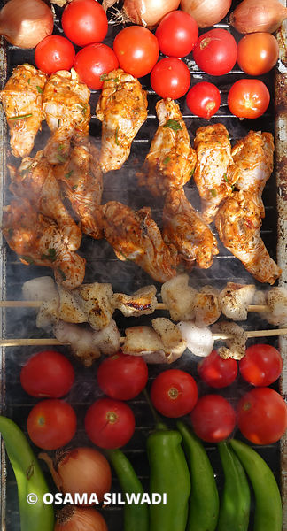 Palestinian Food - Barbecue