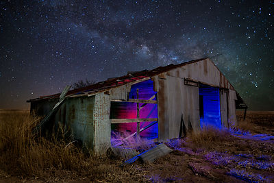 Old Barn and Milky Way #2