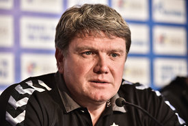 Sergey BEBESKHKO of MESHKOV BREST during the Final Tournament - Final Four - SEHA - Gazprom league, Finals press conference V...