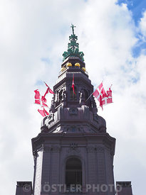 The Tower of Christiansborg Slot