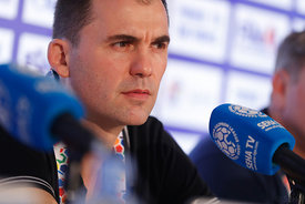 Press conference after the first semi-final match Vardar - Meshkov Brest