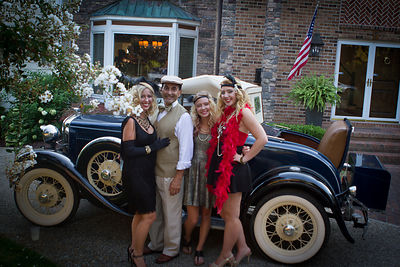 Great Gatsby Party photos