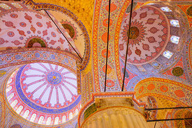 'Blue Mosque' Istanbul 2016: Photographer: Neil Emmerson (My 'long time exposed' image underplays the 'blue' a little). This ...