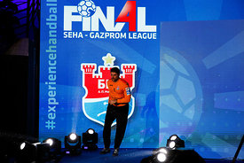 Ivan Pesic during the Final Tournament - Semi final match - Vardar vs Meshkov Brest - Final Four - SEHA - Gazprom league, Sko...