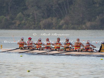 Taken during the World Masters Games - Rowing, Lake Karapiro, Cambridge, New Zealand; Wednesday April 26, 2017:   8465 -- 201...
