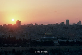 Sunrise in the Old city, Jerusalem