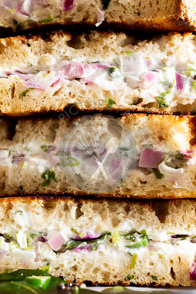 Indian Yogurt Sandwich