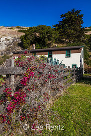 Ranchhouse at Scorpion Ranch on Santa Cruz Island