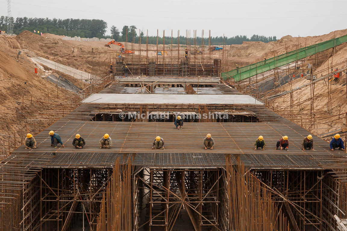 Dezhou pics of South North Water Diversion Project. This section started in June will be finished end of October. Will bring ...