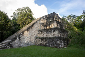 East pyramid of Complex Q (Twin Pyramid Complex), Tikal