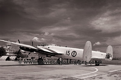 French Navy Lancaster WU15 (NX611)| RAF Changi Singapore | 1962
