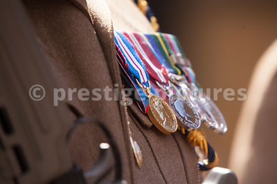 Medals worn by a Soldier of 142 Vehicle Squadron (QOOH), The Royal Logistic Corps