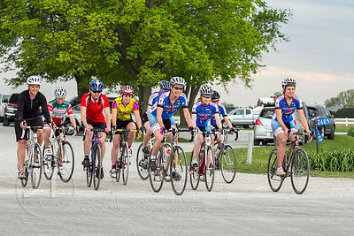 Women of Iowa City Cycling Club Chamois Time Race 1, April 18th, 2012, Kolona, Iowa