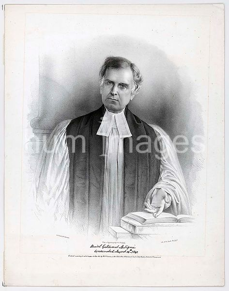 Daniel Gateward Antiqua consecrated August 24th 1842