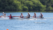 Taken during the World Masters Games - Rowing, Lake Karapiro, Cambridge, New Zealand; ©  Rob Bristow; Frame 442 - Taken on: T...
