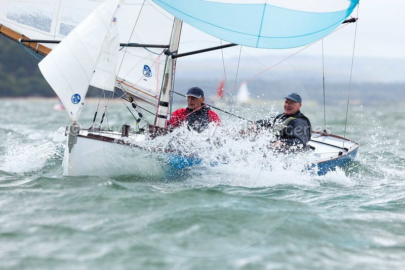 Racing in Poole Harbour during adidas Poole Week 2016
