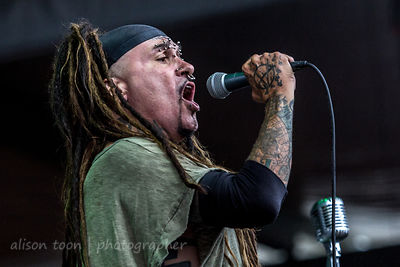 Al Jourgensen, vocals, Ministry