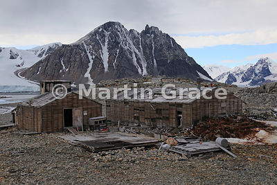 East Base (1939-1941, 1947-1948) of the United States Antarctic Service on Stonington Island, Marguerite Bay, Antarctica