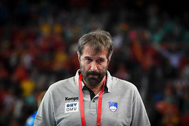 Veselin Vujovic during the EHF EURO Croatia 2018 - Preliminary round -  Group C - Germany vs Montenegro in Arena Zagreb, Zagr...