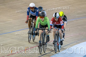 Women Keirin 7-12 Final. Track Ontario Cup #2, January 13, 2019