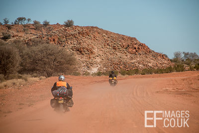 Bikers In The Outback