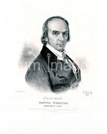 Daniel Webster, Secretary of State ca 1843