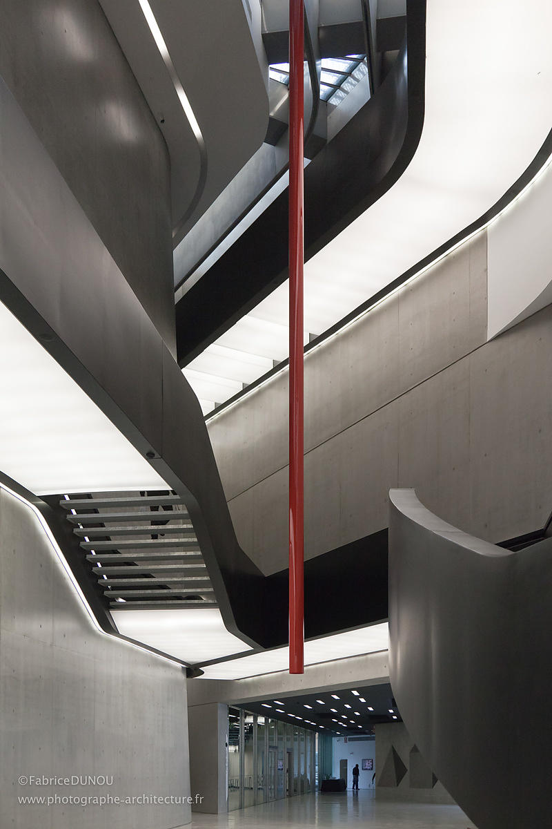 MAXXI Rome - Architect : Zaha Hadid 2010 - Photo 2010