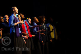 Young People's Chorus of New York City performing at Cantonigròs International Music Festival