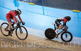 Junior Women Team Sprint. Ontario Track Provincial Championships, March 6, 2016
