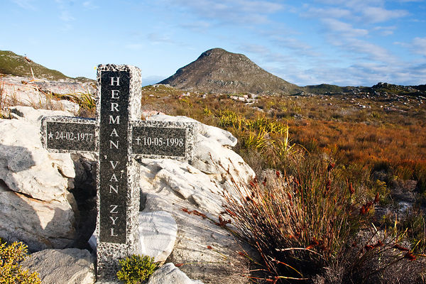 Cross in Patry's Valley, Cape Peninsula, South Africa