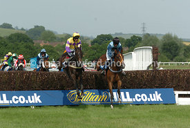 Paddy The Optimist winning the Racecourse For The Ideal Party Handicap Steeple Chase (Class 5)