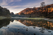 Sunrise at Grange in Borrowdale