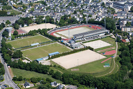photo d'un stade, ‡ Quimper