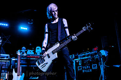 Kyle Vorst, bass,, Snow White Smile, Ace of Spades, Sacramento