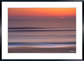 Hossegor Low Speed Sunset  © 2018 Olivier Caenen , tous droits reserves