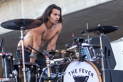Aric Improta, drums,The Fever 333