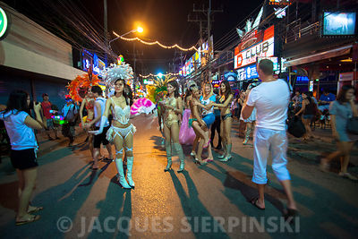 Thaïlande, Phuket, Patong by night