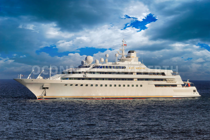 Mark O Connell Photography Superyacht Lady Moura