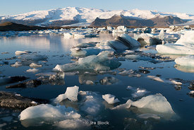 Ice near Jokulsarlon Ice Lagoon on Iceland's southern coast.